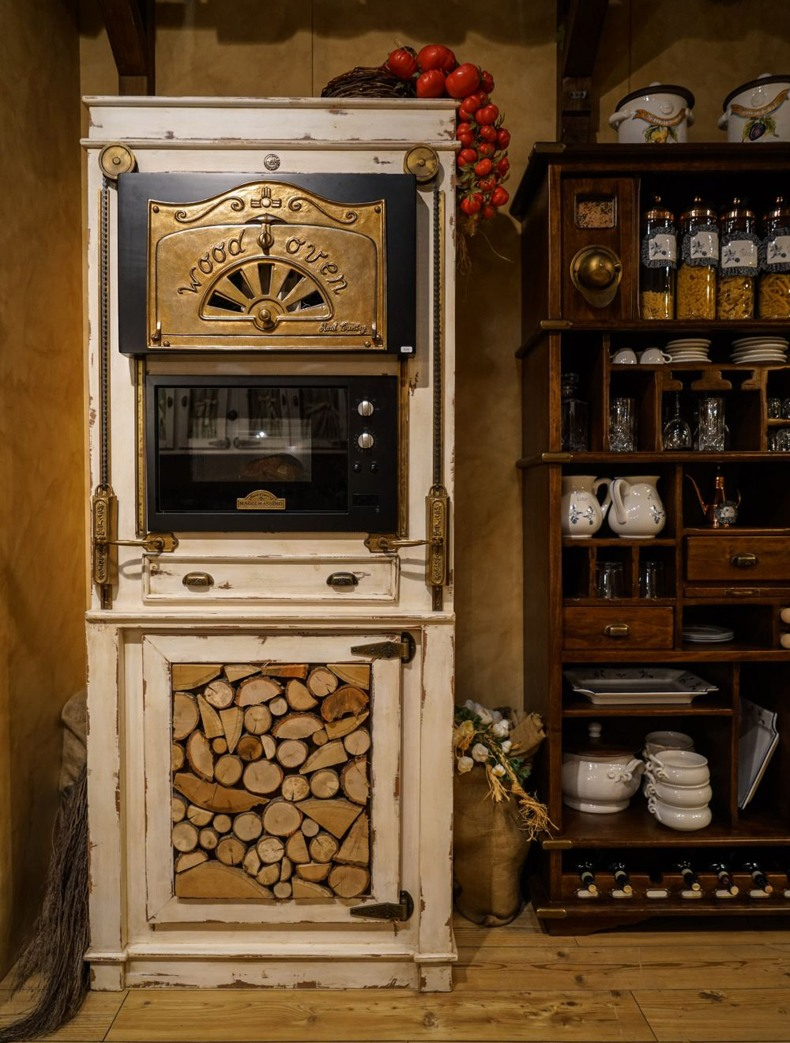 Antique Wood Oven
