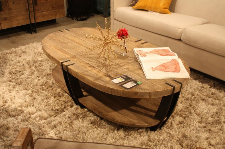 Marble Coffee Table With Stainless Steel Legs