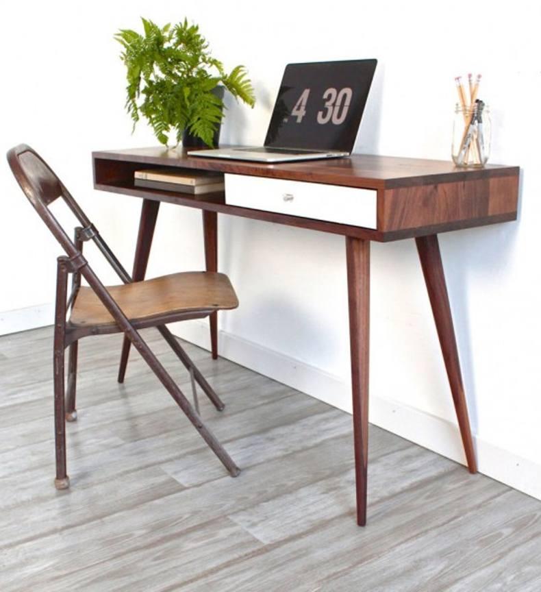 Mid Century Study Desk