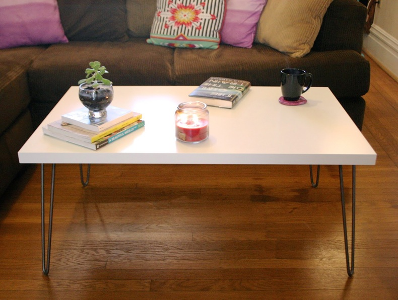 Modern Mid Cenrury Hair Pin Coffee Table