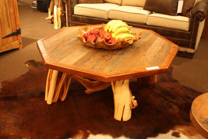 Chunky Rustic Coffee Table