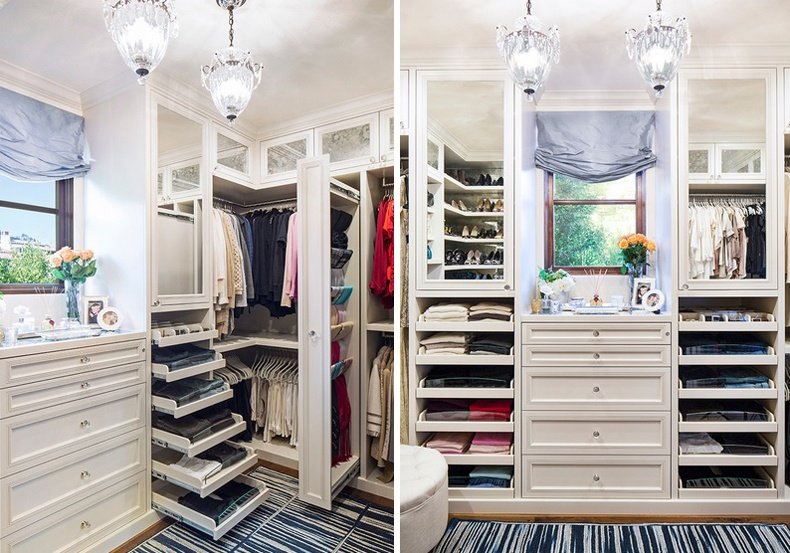 Closet Slide Out Shelves