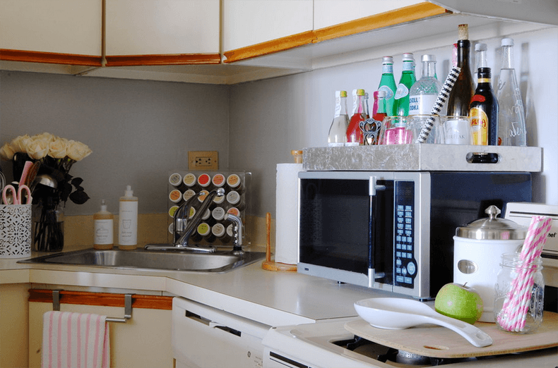 Kitchen Design Tray Small Bar
