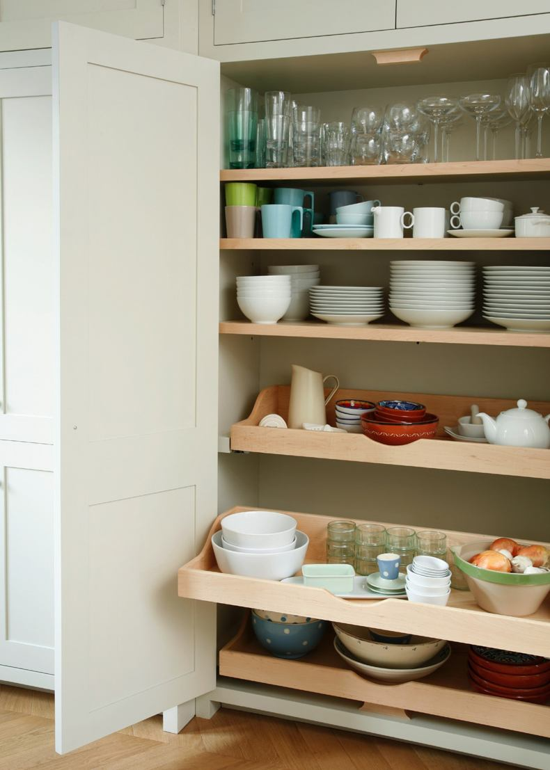 Sliding Kitchen Storage Racks