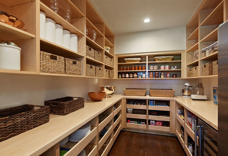 Kitchen Pantry Roll Out Shelves