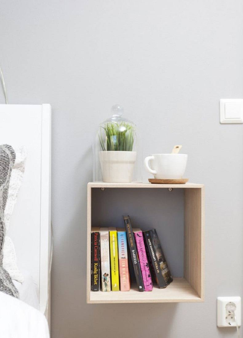 Small Square Nightstand