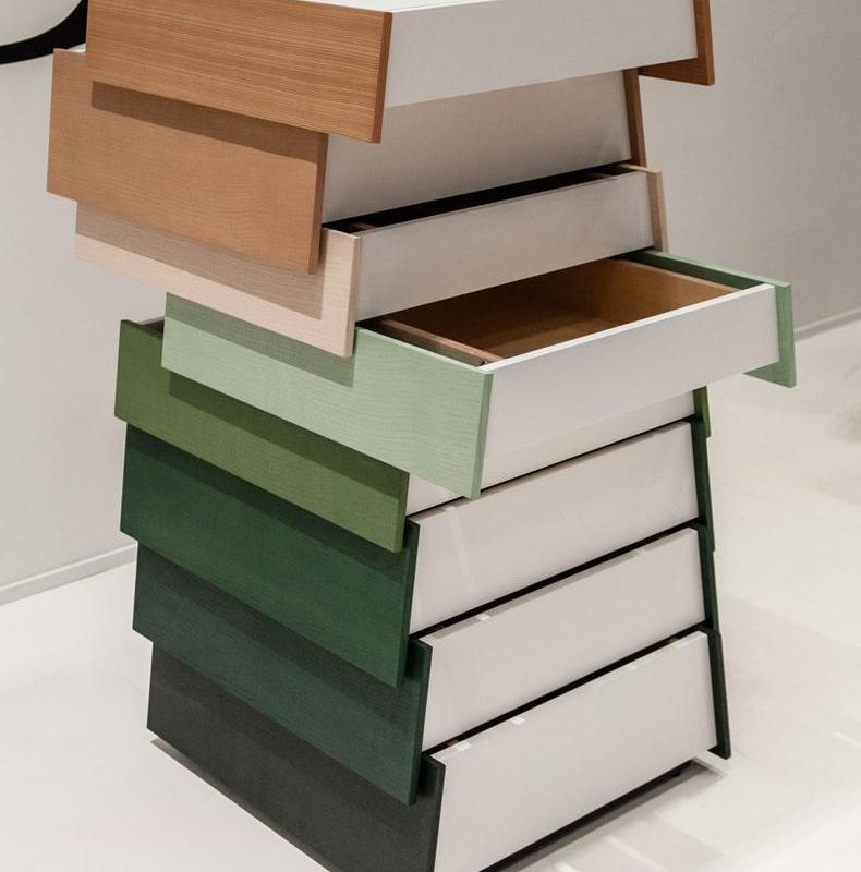 Stack Drawers Cabinet Raw Edges And Shay Alkalay