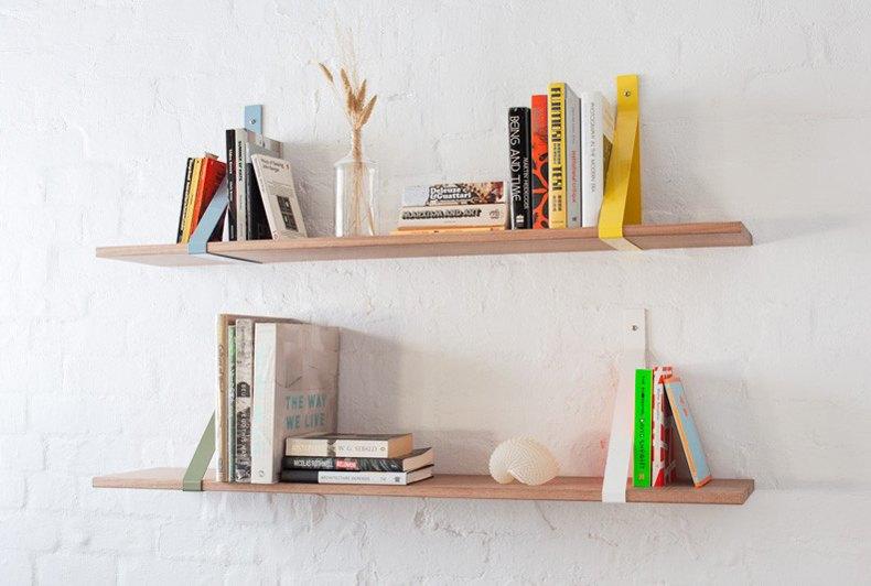 Coloured Shelf Brackets