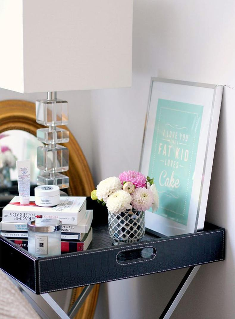 Tray Bedside Table
