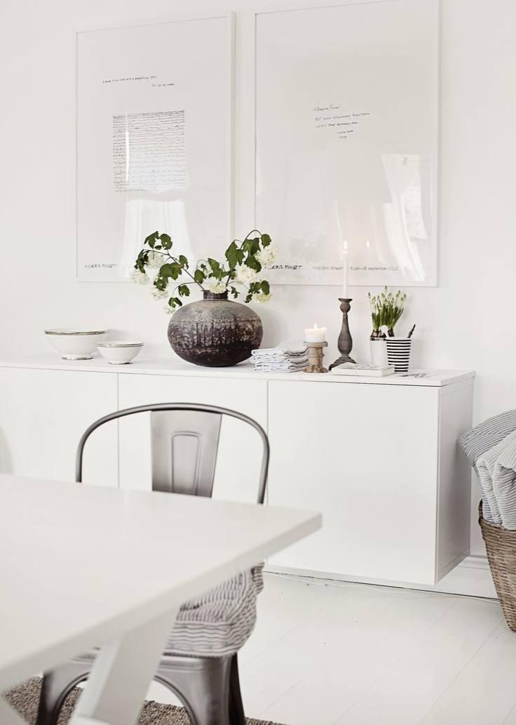 White Sideboard Credenza