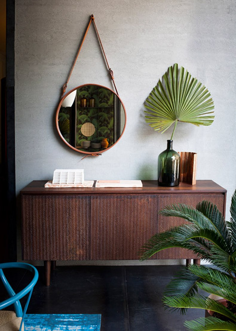 Wood Simple Credenza For Living Room