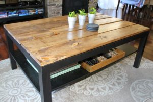 Industrial Coffee Table Decor