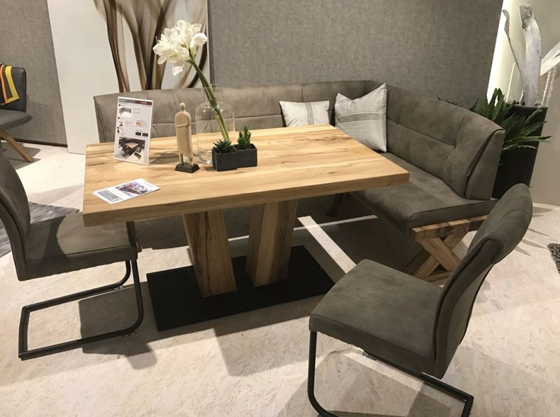 Rectangle Table With Bench