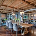 14 Inspired Narrow Trestle Table Ideas for Dining Room Furniture Sets