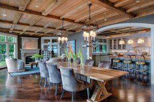 Hardwood Trestle Table
