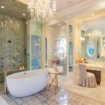 7 Luxury Custom Vanity Stool Ideas for Bathroom Interior Decor