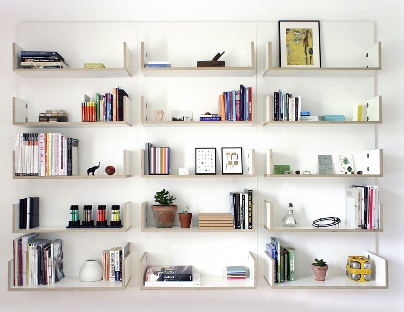 Modular Shelving System by Ben Couture