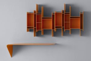Randomito Open Wall-Mounted Bookcase Modular System