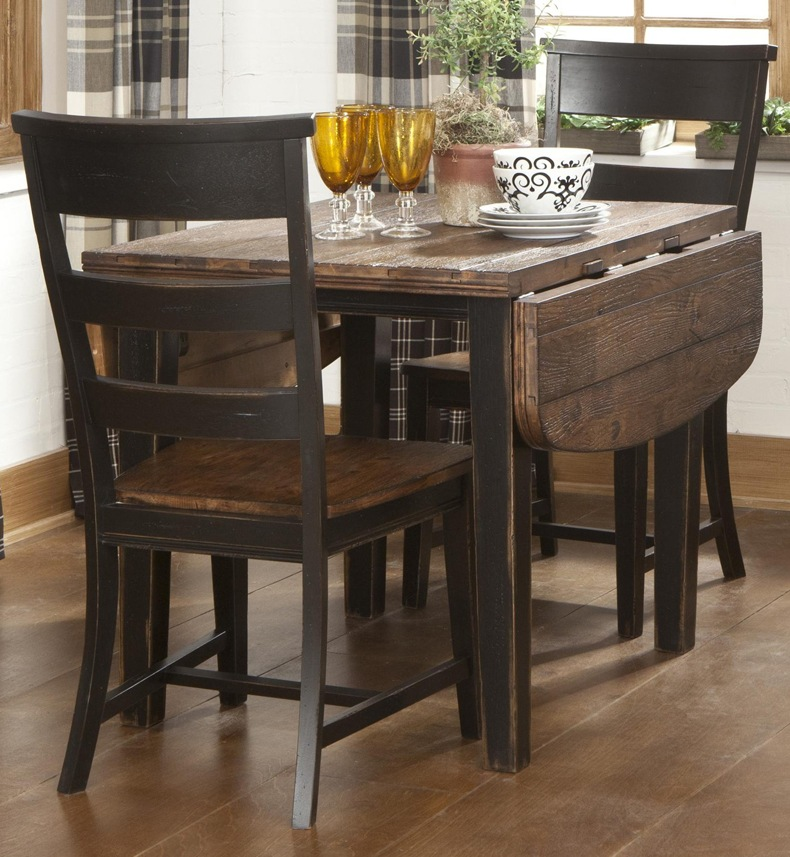 Adding drop leaf kitchen table to kitchen helps to connect your kitchen with living room.