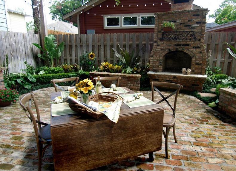 Backyard Folding Table