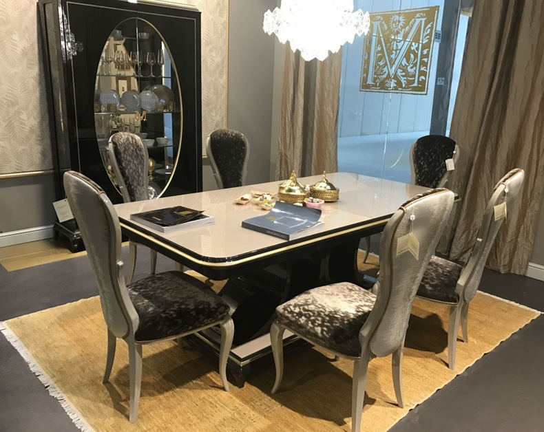 Baroque Dining Table Set