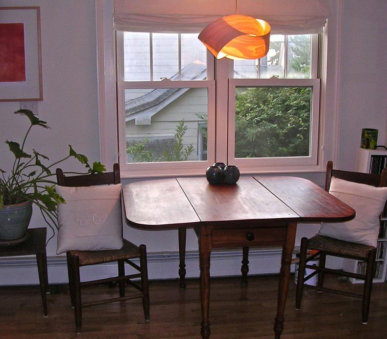 Side Drop Leaf Dining Table