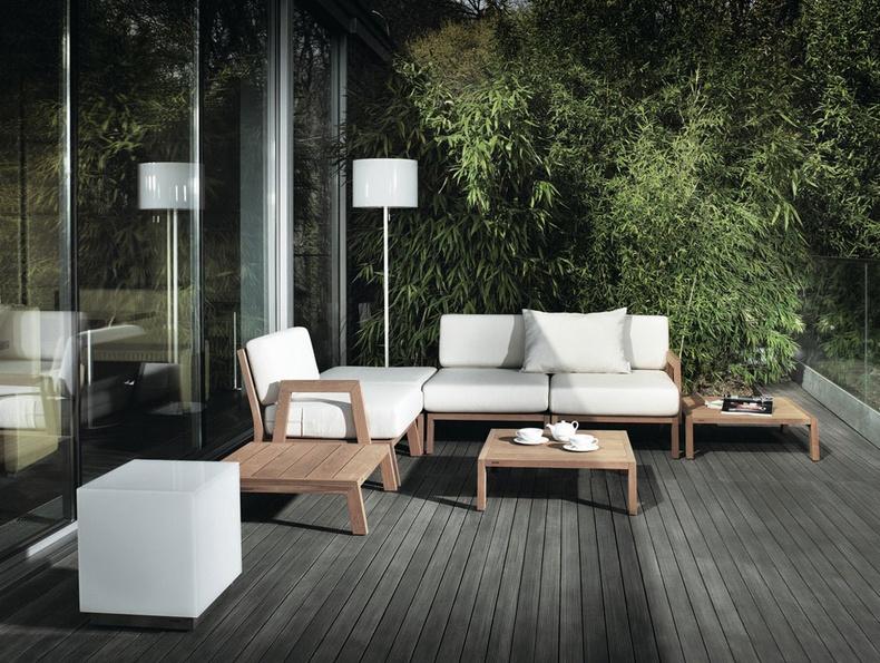 Modern Patio Bamboo Furniture