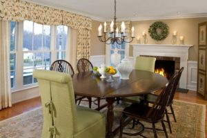 Rectangular Dining Table Turned Into Round Table