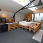 Original Design of Your Room With Recycled Pallet Bed Frames