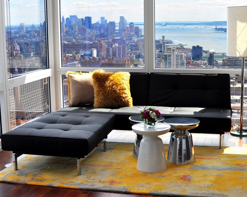 Sometimes black sofa ideas may have an elegant and stylish look.