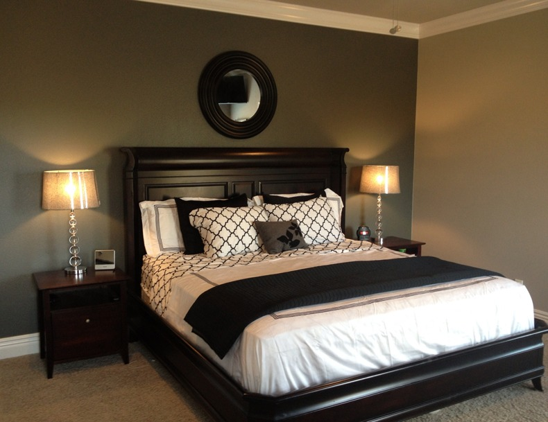 Black and Wood Bedroom Furniture