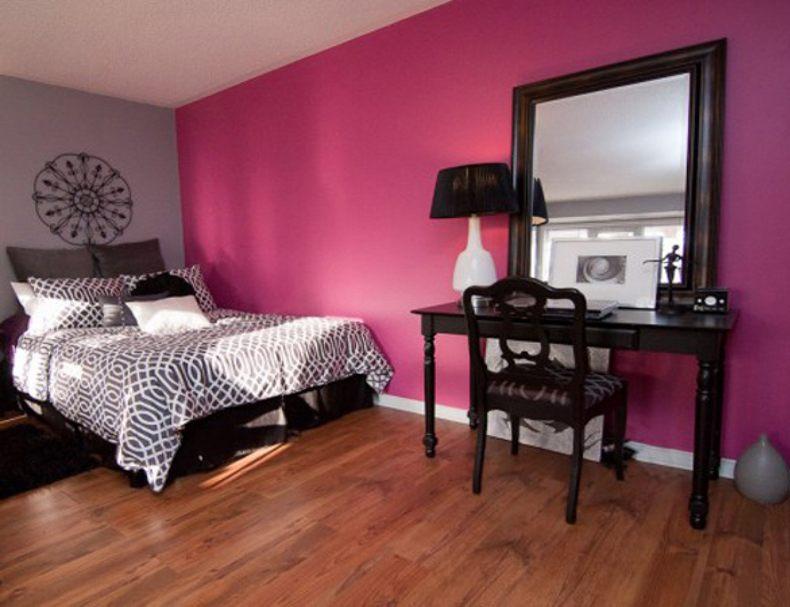 Pink Black Room