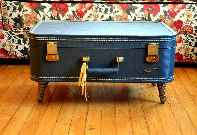 Decor of Suitcase Coffee Table