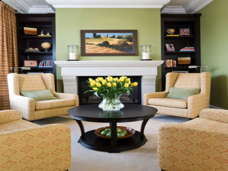 Fireplace Arrangament Living Room