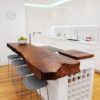 Kitchen Island Wood Edge Top