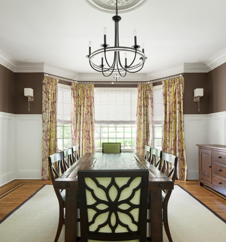 Bay Window Shades Corner Curtains