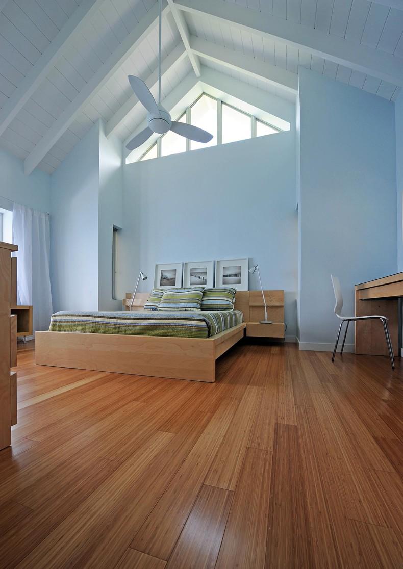 Bedroom Bamboo Flooring