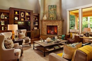 How to Arrange Furniture When You Have a Corner Fireplace
