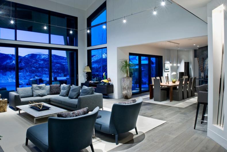 Gray Floor Living Room Ideas