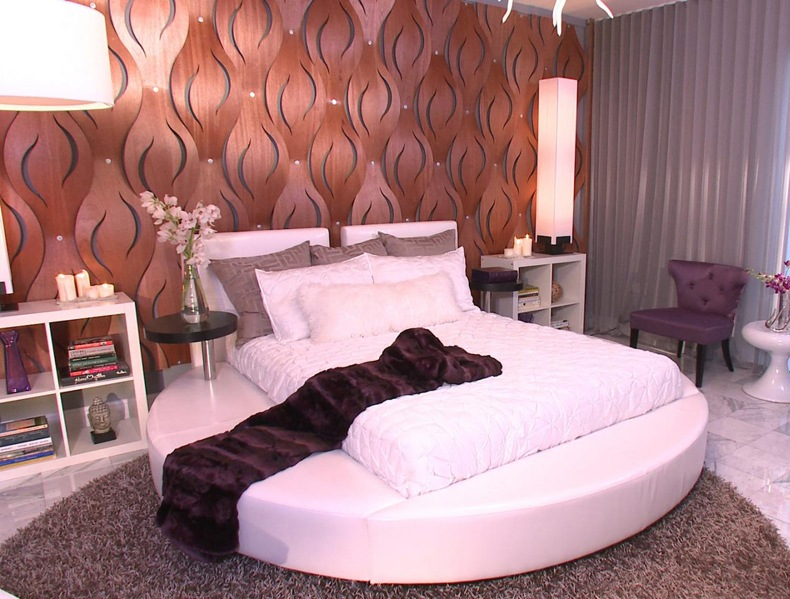 Contemporary Round Beds