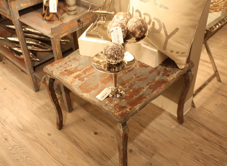 Light Living Rustic Side Table