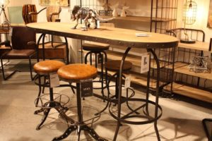 Moes Rustic Bistro Furniture Set