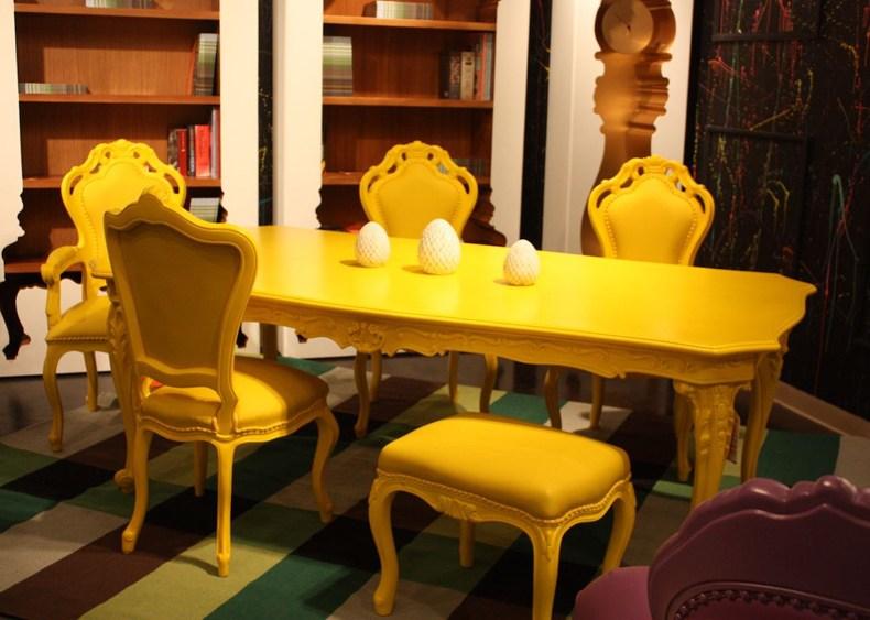 Yellow Polart Chair
