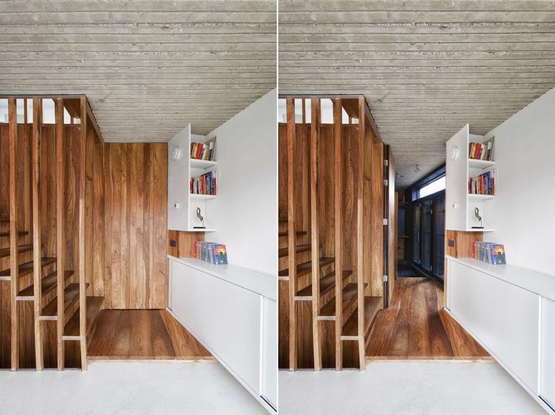 Secret Door Design – Concrete Celiling