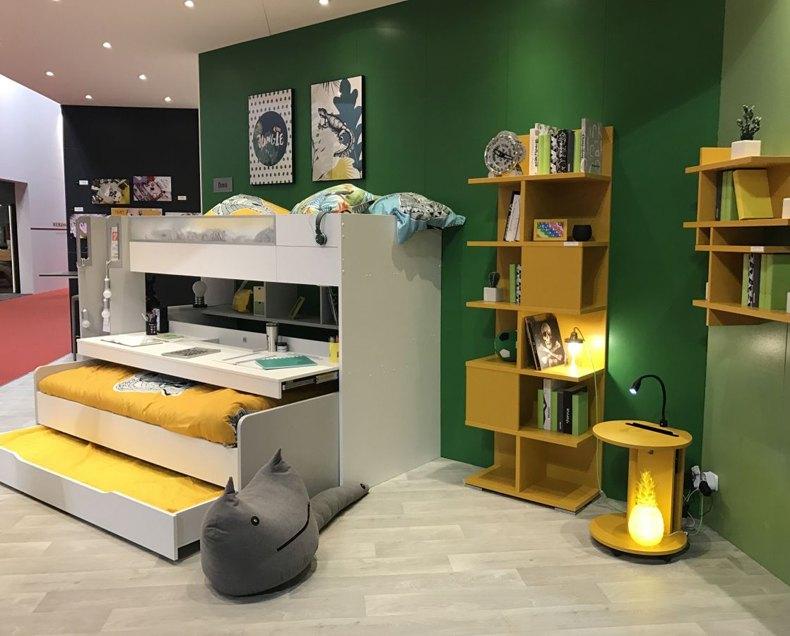 Yellow European Classic Furniture