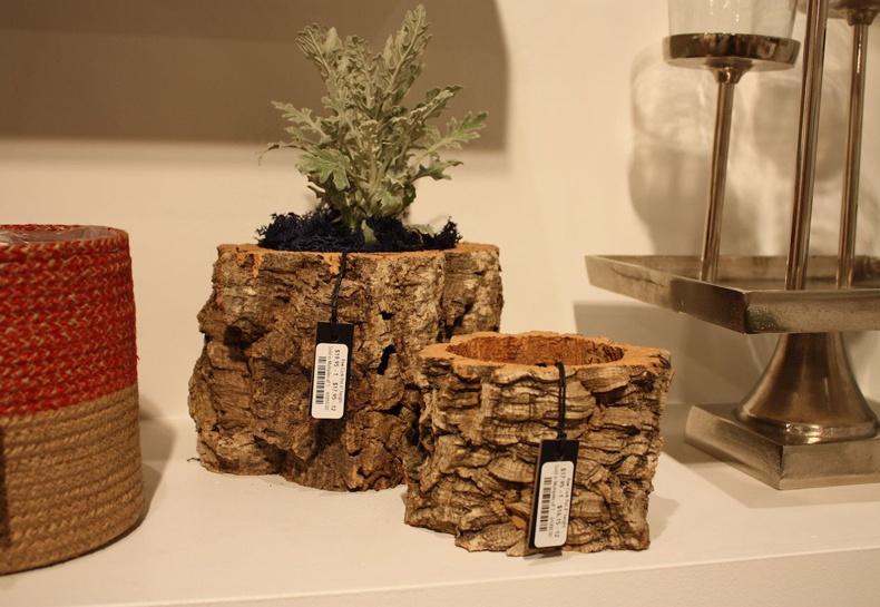 Tree Bark Planters