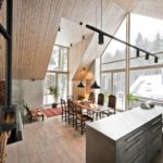 Modern Rustic Room Features with Complementary Modern Mix of Styles
