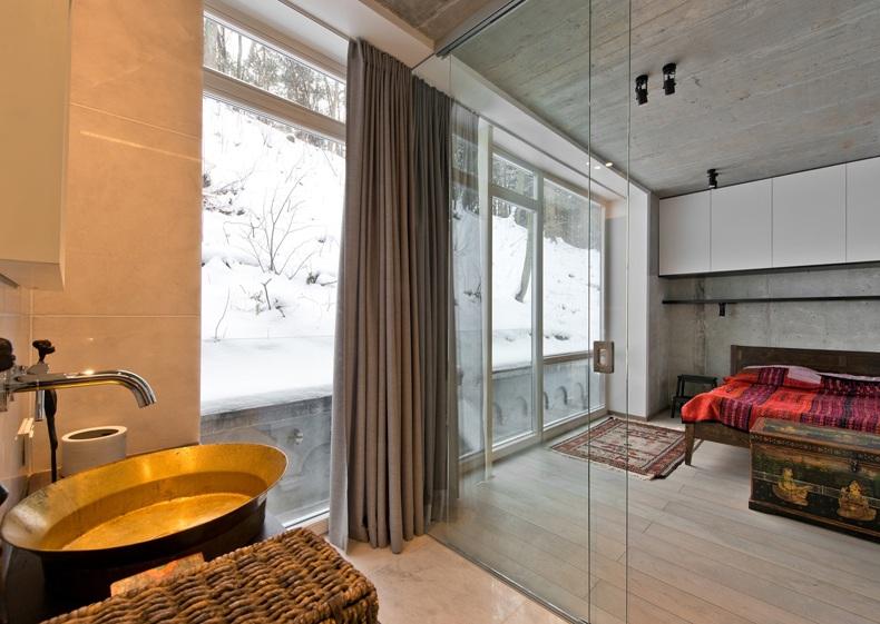 Master Bedroom Glass Doors