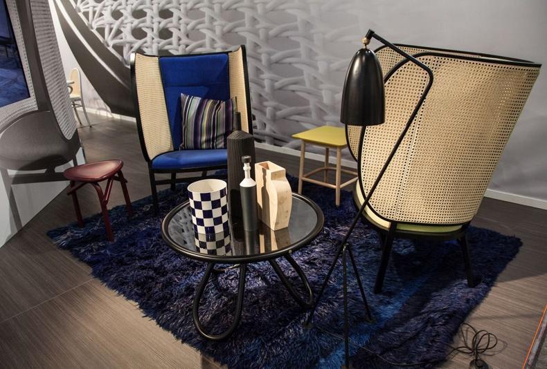 Cobalt Blue Living Room Furniture Decor