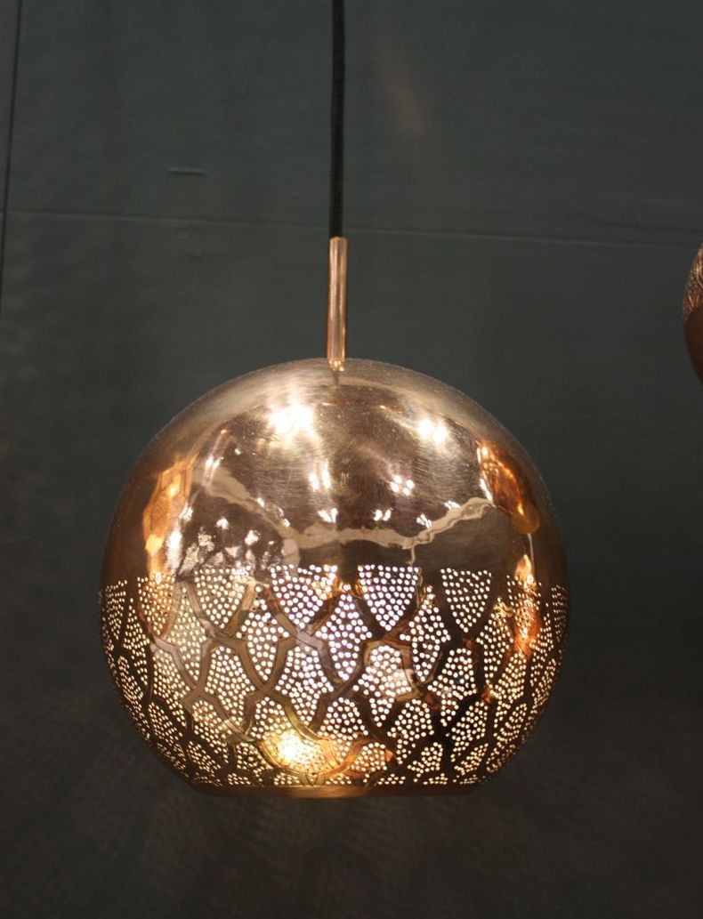 Copper Hanging Ceiling Light